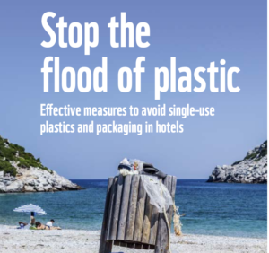 Effective measures to avoid single-use plastics and packaging in hotels